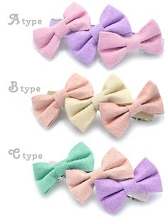 PARIS KIDS | Rakuten Global Market: Triple Ribbon Barrette | Cute Barrette heaakuse Hara-Juku series Ribbon kids wedding summer birthday present tasty presents women gadgets Paris kids pariskids 02P30May15