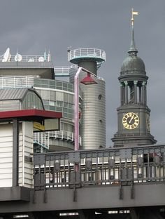 Hamburg Michel - U-Bahn Baumwall