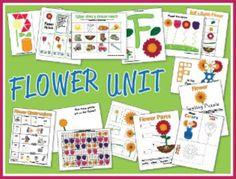 Flower Preschool Pack