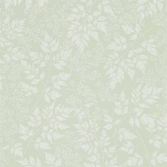 Sanderson The Potting Room Wallpaper - Spring Leaves, available to purchase online from F&P Interiors. Spring Leaves Wallpaper features overlapping leaves and floral sprigs branching across the design… Room Wallpaper, Fabric Wallpaper, Wallpaper Roll, Perfect Wallpaper, Wallpaper Samples, Green Leaf Wallpaper, Leaves Wallpaper, Painted Rug, Frames