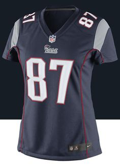 Nike Women s New England Patriots Rob Gronkowski Limited Team Color Jersey  - Gear Up For Sports 35a5413c3