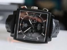 TAG Heuer Monaco Calibre 12 ACM Edition #watch #tag #heuer
