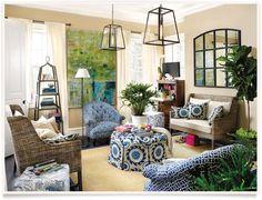 Ballard Designs | Eastman Living Room