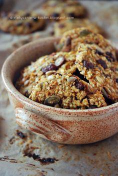 Moje Dietetyczne Fanaberie: Ciasteczka owsiane z marchewką