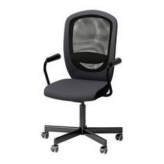 FLINTAN / NOMINELL Forgószék+karfa IKEA
