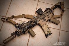Scar type AR-15