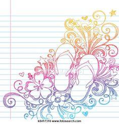 ddb4bae532a9e6 Flip Flop Illustrations and Stock Art. 1