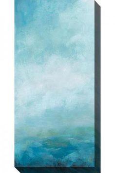 Ocean Front II Canvas Wall Art