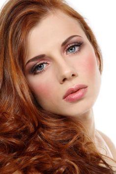 Wedding Eye Makeup For Redheads : Wedding Makeup For Blue Eyes Red Hair - Mugeek Vidalondon