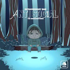 EXTRAORDINARY $AM Anti Social Beat Tape 🔥🖤 Lil Uzi Vert, Living Legends, Anti Social, Beats, Pop Culture, Tape, Hip Hop, Group, Music