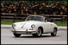 1965 Porsche 356C Cabriolet 1600 CC, 4-Speed presented as lot S164 at Monterey, CA