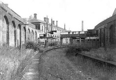 Hanley railway station after closure Disused Stations, Stoke On Trent, Back In Time, Newcastle, Locomotive, Family History, Old Photos, Abandoned, Past