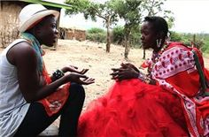 Barbara Minishi: The Red Dress