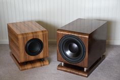 The Tenacious Bass 6 and 8 Subwoofers - This subwoofer project is really two projects in one. Since many folks tend to gravitate towards building smaller 2-way speakers due to space considerations, using a subwoofer with speakers of that type really makes sense.