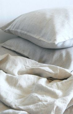Linen sheet set, Natural Eco linen sheets set with pillowcases, washed certified linen bed sheets, flat sheet+fitted sheet+pillowcases