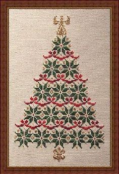 Simply Christmas - Cross Stitch Pattern