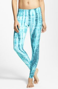 Hard Tail Tie Dye Long Ankle Leggings available at #Nordstrom