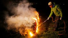 More in Central Europe has in recent days been able to see thousands of bonfires in vineyards and orchards.