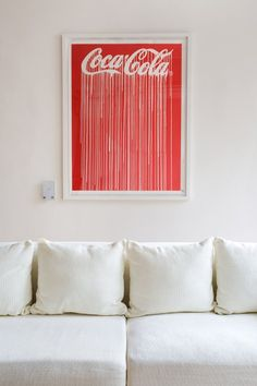 Welcome to the Coke couch.