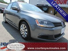 2013 VOLKSWAGEN JETTA -- VERY CLEAN With LOW MILES! -- GOOD On GAS! -- LEATHER! -- Price INCLUDES A 3 MONTH/3,000 Mile WARRANTY! -- CALL TODAY! * 757-424-6404 * FINANCING AVAILABLE! -- Courtesy Auto Sales SPECIALIZES In Providing You With The BEST PRICE On A USED CAR, TRUCK or SUV! -- Get APPROVED TODAY @ courtesyautosales.com * Proudly Serving Your USED CAR NEEDS In Chesapeake, Virginia Beach, Norfolk, Portsmouth, Suffolk, Hampton Roads, Richmond, And ALL Of Virginia SINCE 1976!