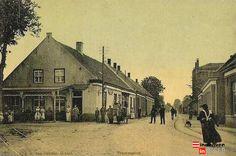 Hoogstraat 323 Bal van Gennip.  Het uit plm. 1810 stammende pand, het GESTELS KOFFIEHUIS.