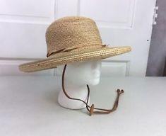 TILLEY Raffia Straw Summer Hat Women s Small b60b985c9b