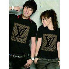 Kaos Baju Couple Oblong | baju Pasangan | Baju Kembar AA84 - elevenia