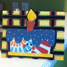 Birthday card - using Simply Charmed Cricut Cartridge