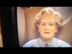 Remembering Robin Williams.  Mrs. Doubtfire: All my love to you poppet