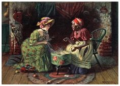http://www.mystictearoom.com/Harry-Roseland-The-Fortune-Teller-Undated-Card-Reading-Hat-Box-Footstool-Chairs-One-Client.jpg