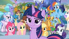 #1697013 - alicorn, applejack, changedling, changeling, fluttershy, gallus, grampa gruff, king thorax, mane seven, mane six, ocellus, pinkie pie, prince rutherford, princess celestia, princess ember, rainbow dash, rarity, safe, school daze, screencap, seaspray, silverstream, smiling, smirk, smolder, smuglight sparkle, spike, spoiler:s08e01, spoiler:s08e02, thorax, twilight sparkle, twilight sparkle (alicorn), yona - Derpibooru - My Little Pony: Friendship is Magic Imageboard