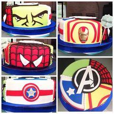 Cake The Avengers, #Hulk  #Ironman #Captainamerica ⚡️⚡️ a petición del cliente #Spiderman  #themovie #superhéroes #torta #losvengadores #lapelicula #cake #theavengers #tortasdecoradas #deliciosa #dulcepastell #arte #colores  #cakedecorating #tortasenvigado #tortasmedellin #cupcakesenvigado #cupcakesmedellin http://dulcepastel.com