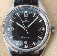 Omega Railmaster - The happy end of a long hunt Omega Railmaster, Vintage Omega, Omega Watch, Gadgets, Watches, Classic, Shoes, Fashion, Accessories