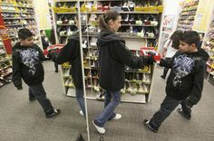 payless gives new shoes to Club kids