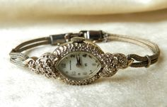 Antique Watch Hamilton 14K Diamond Art Deco by LoveAlwaysGalicia