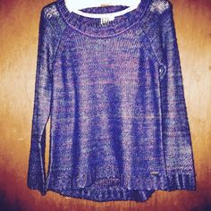 ROXY multicored sweater  100% acrylic, new without tags. Very comfortable and warm !! Roxy Sweaters Crew & Scoop Necks