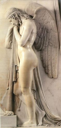 Sorrowful Angels by Antonio Canova, 1819