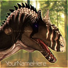 Allosaurus from the Isle  #the isle