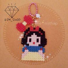 Snow White perler beads by b2m_shop