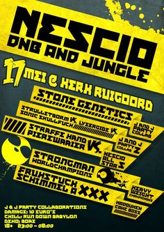 J Party Collaboration presents: Nescio Onkruit DnB party! | Friday May 17th