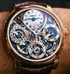 MB&F Legacy Machine Perpetual Calendar Watch Hands-On | aBlogtoWatch