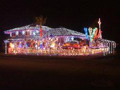 Awesome Christmas Lights On House   Awesome Christmas Lights