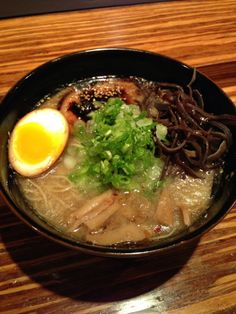 """Benkei Ramen in New York, NY. Via BRUTAS' """"101 Things To Do In NYC"""" issue."""