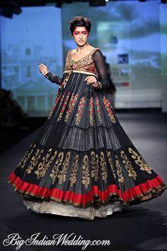 Anju Modi bridal anarkali