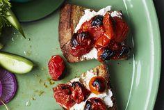 Burst-Tomato Toasts