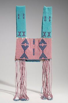 Xhosa people (South Africa), Vest, beads/string, c. African Beads, African Jewelry, Ethnic Jewelry, African Art, African Culture, Beaded Jewelry, African Design, African Prints, Jewellery