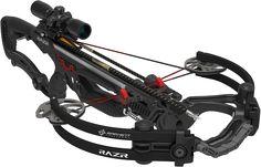 New Barnett Crossbow - Razr. Ft.lbs of Energy - 142. Draw weight - 185 lbs. FPS - 400. Mass Weight  - 6.5 lbs.
