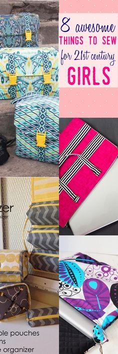 gifts to sew for girls | easy gifts to sew | camera bag pattern | laptop bag pattern for girls | free sewing patterns