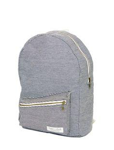 Stone + Cloth railroad stripe backpack