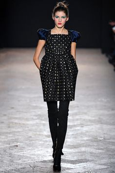 Aquilano.Rimondi Fall 2013 Ready-to-Wear Fashion Show - Valery Kaufman